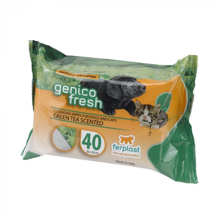 Очищаючі серветки Ferplast GENICO FRESH GREEN TEA