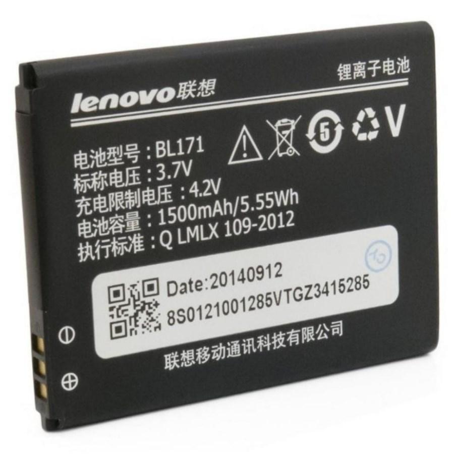 Аккумулятор Lenovo BL171/А390/А368 orig