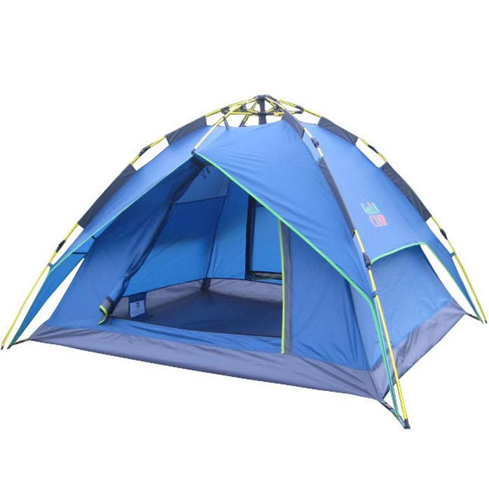 Палатка трехместная автоматическая Green Camp 1831
