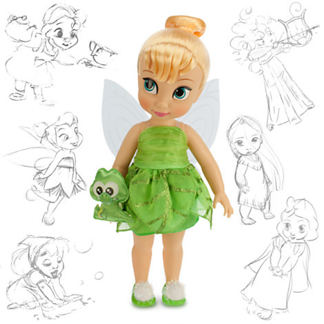 Disney Animators' Collection - Дінь Дінь (Tinker Bell, кукла Дисней Аниматорс Тинкер Бель, Динь Динь)