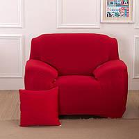 Чехол на кресло Homytex бифлекс одноместный красный 90*140 см арт.6-12198