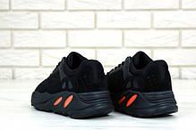 Мужские кроссовки AD Yeezy 700 Black, А-д изи буст . ТОП Реплика ААА класса., фото 3