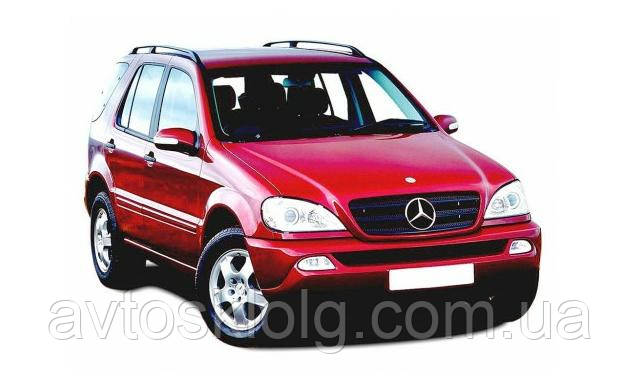 Стекло лобовое, заднее, боковые для Mercedes M-Class (Внедорожник) (1998-2005)