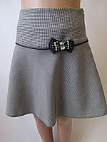 Детская юбочка с бантом на кокетке., фото 1