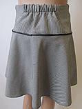 Детская юбочка с бантом на кокетке., фото 5