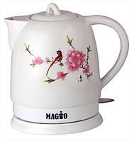 Керамический электрочайник MAGIO  MG-1051,5л/1300-1500Вт