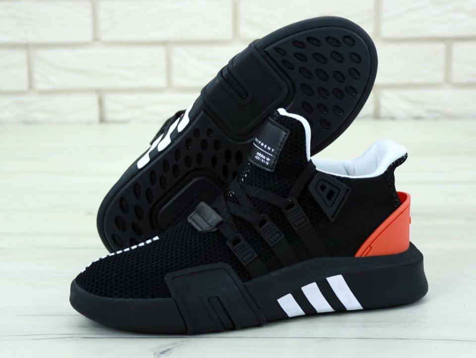 Мужские кроссовки AD EQT Basketball ADV Black Red . ТОП Реплика ААА класса.