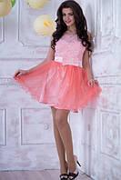 """Нарядное, выпускное платье """"Оливия"""" (розовое)"""