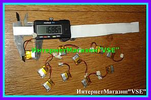 Акумулятор для блютуз стіна розмір 16.86* 13.98* 4.28 мм 150mAh