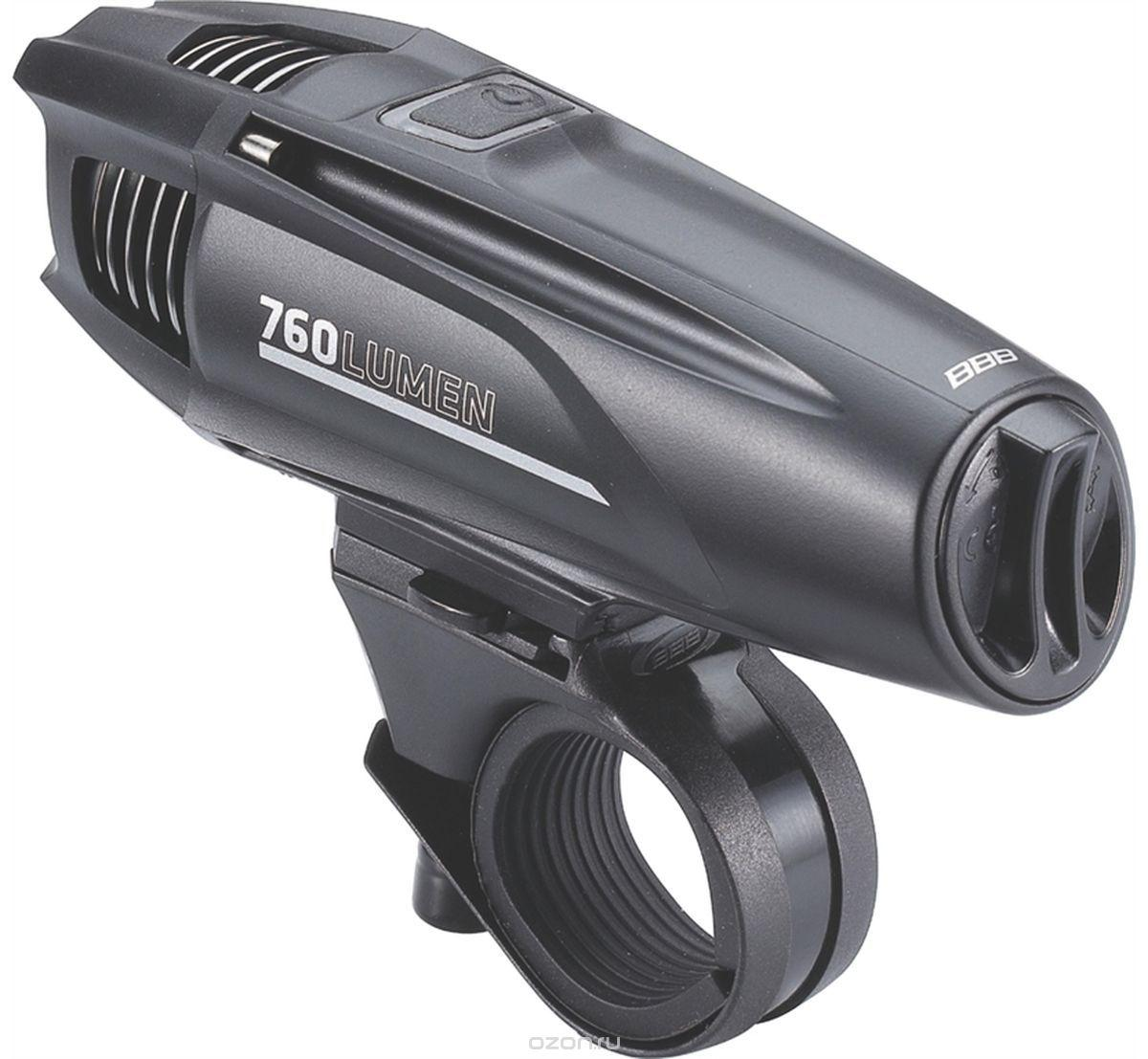 "Фара передн. BBB BLS-74 ""Strike"" 760 lumen 2600mAh акумул. черн. (8716683100709)"