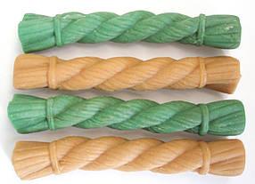 Лакомства для собак Жевательная щетка MIX L (зеленый чай, курица) 4 шт в упаковке