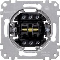 Механизм 1-полюсного выключателя на 1-направление/ 2-полюсный на 1-направление Shneider Merten (MTN312000)