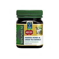 Мед Манука Manuka Health MGO 250+ с экстрактом зеленого чая (250г)