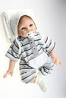 Силиконовая Коллекционная Кукла Реборн Reborn ( Виниловая Кукла ). Арт334, фото 1