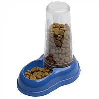 Механическая пластиковая кормушка для сухого корма и воды для кошек и собак Ferplast AZIMUT 1.5 л