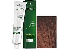 Schwarzkopf ESSENSITY Перманентная крем-краска для волос без аммиака 5-80 светло-коричневый красный натуральный