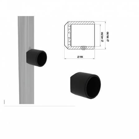 Столбик в сборе конечный для создания системы ограджения 1060мм б/у, фото 2