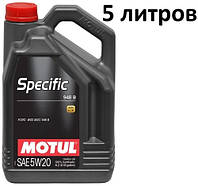 Масло моторное 5W-20 (5л.) Motul Specific 948B