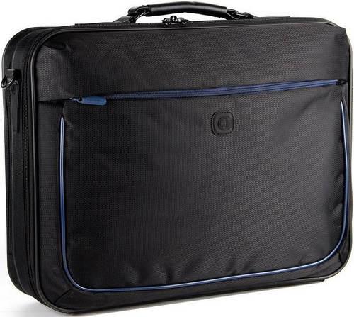 """Мужской портфель с отделением для ноутбука 17,3"""" Continent CC-892 черный"""