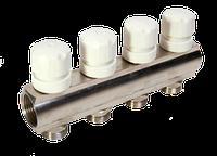 Коллектор с термостатическими клапанами Sun 1х3/4 - 2