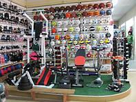 Торговое оборудование для магазинов спорттоваров