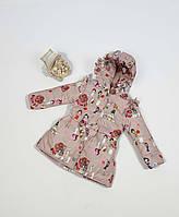 Куртка для девочки  684 весна-осень, размеры 86 - 104 от 1 до 4 лет, фото 1
