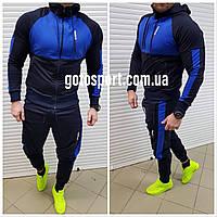 Мужской спортивный костюм Reebok Hercules синий, фото 1