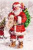 """Схема для вышивания бисером """"Дед мороз"""""""