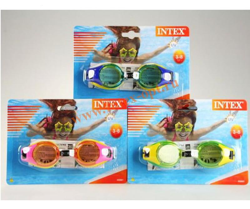 Очки Intex 3-8 лет