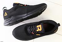 Кроссовки REEBOK черные в сеточку, фото 1