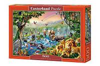 Пазл Castorland Река в джунглях 500 элементов В-52141 (tsi_22555)
