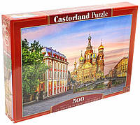 Пазл Castorland Храм в Санкт-Петербурге 500 элементов 2257 (tsi_27139)