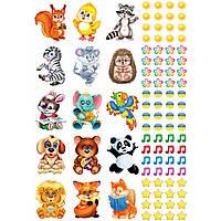 Набір наклейок для заохочення дітей №5259/13105134У(50)