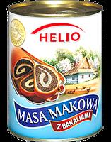 Маковая масса Helio с изюмом Польша 850г