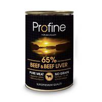 """Консервы для собак Profine Dog """"Beef & Liver"""" 10,4/6,6 (с говядиной и печенью) 400г"""