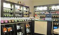 Торговое оборудование для кофейных и чайных магазинов