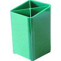 Подставка канцелярская зеленая ПН-4з