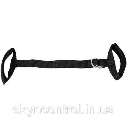 Ремень-наручники Snackles You 2 Toys, с петлями для фиксации, цвет черный, фото 2