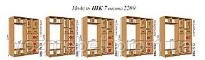 Шкаф-купе 2,0*0,6*2,2 (шк-7202)