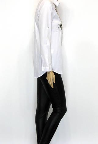 Жіноча сорочка з вишивкою бісером, фото 2