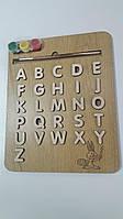 3д Алфавит-пазл-раскраска английский
