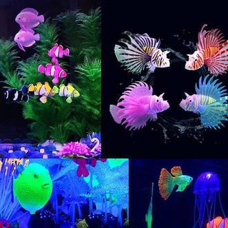 Люминесцентные и флуоресцентные декорации из силикона