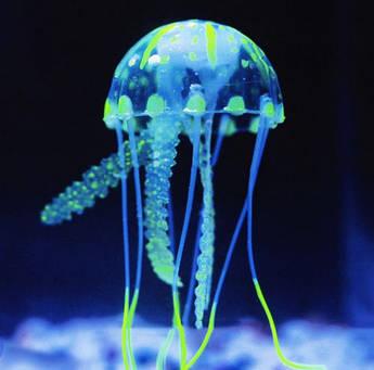 Декор для аквариума Медуза маленькая 5 см