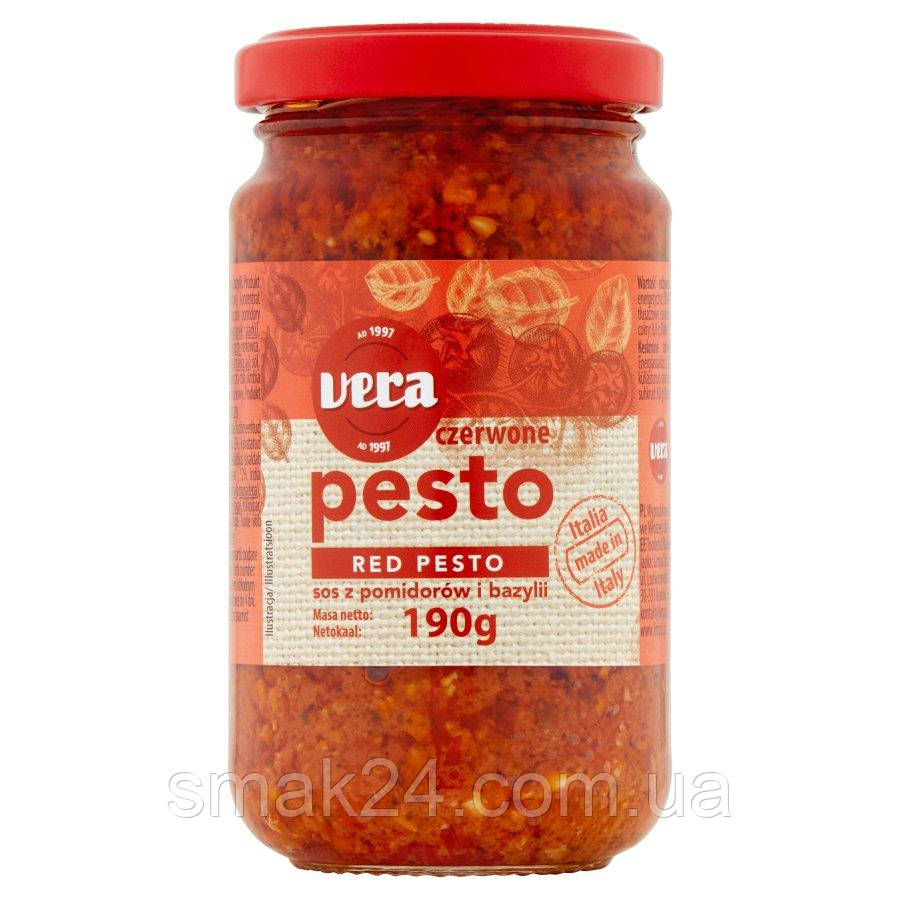Соус Red  Pesto  Vera 190 г Польша
