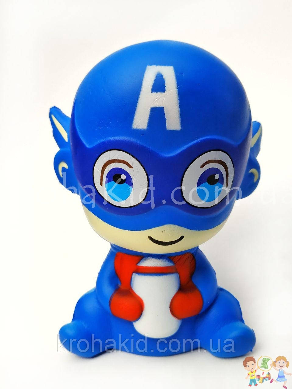 Сквиш супергерой Марвел / superhero Squishy / Сквуши/ Игрушка-антистересс