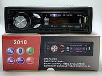 Автомагнітола 2018 MP3,USB, SD, FM, AUX ,пульт, фото 1