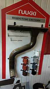 Металлическая водосточная система RUUKKI