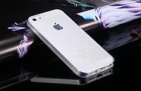 Силиконовый прозрачный чехол для Iphone 5/5S