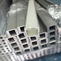 Светодиодный профиль ЛП12 с Рассеивателем пластик, фото 1
