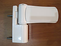 Петля дверная Akpen ZM-018 алюминий 110 кг белая